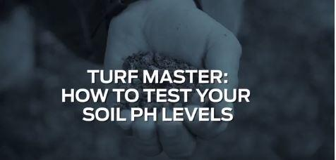 Test your pH levels for a great Spring lawn